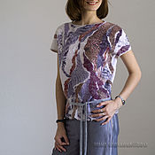 "Одежда ручной работы. Ярмарка Мастеров - ручная работа Блуза ""Чабрец"". Handmade."