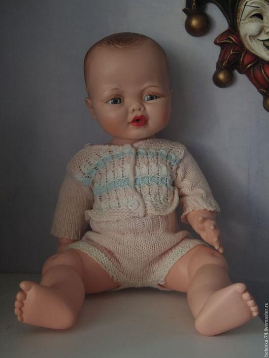 Винтажные куклы и игрушки. Ярмарка Мастеров - ручная работа. Купить Purty Doll  с меняющимся лицом. Handmade. Ярко-красный