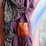Одежда ручной работы. Ярмарка Мастеров - ручная работа бохо-платье ДЗЕН. Handmade.