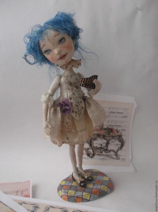 Коллекционные куклы ручной работы. Ярмарка Мастеров - ручная работа. Купить Мальвина продана. Handmade. Подарки ручной работы, сказка