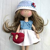 Куклы и игрушки ручной работы. Ярмарка Мастеров - ручная работа Девочка с китом. Handmade.