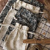 Сувениры и подарки handmade. Livemaster - original item Linen gift bags, storage bags, Christmas bags. Handmade.