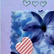 """Открытки ручной работы. Ярмарка Мастеров - ручная работа открытка """" Нежность"""". Handmade."""