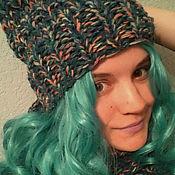 Аксессуары ручной работы. Ярмарка Мастеров - ручная работа Комплект шапка + шарф. Handmade.