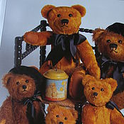 Куклы и игрушки ручной работы. Ярмарка Мастеров - ручная работа Выкройка антикварного французского медведя. Handmade.