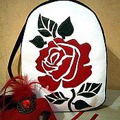 """Рюкзаки ручной работы. Ярмарка Мастеров - ручная работа Рюкзак """"Роза"""". Handmade."""