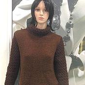 Одежда ручной работы. Ярмарка Мастеров - ручная работа Свитер кашемировый вязаный. Handmade.