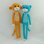 Куклы и игрушки ручной работы. Ярмарка Мастеров - ручная работа Длинноногие звери. Handmade.