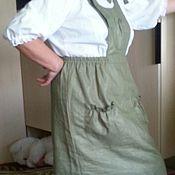 Одежда handmade. Livemaster - original item Linen sundress
