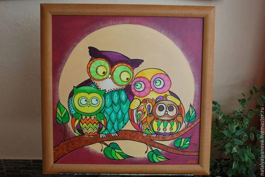Абстракция ручной работы. Ярмарка Мастеров - ручная работа. Купить Картины для детской комнаты, разные. Handmade. Разноцветный, для детей, хамелеон