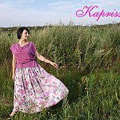 """Одежда ручной работы. Ярмарка Мастеров - ручная работа Комплект""""Розовые цветы""""(4). Handmade."""