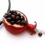 Украшения handmade. Livemaster - original item Pendant - necklace Granatik with pomegranate. Handmade.