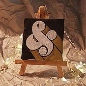 Картины ручной работы. Ярмарка Мастеров - ручная работа Картина: Амперсанд. Handmade.