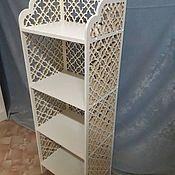 Для дома и интерьера handmade. Livemaster - original item Bookcase carved. Handmade.