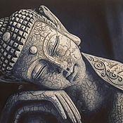 Картины и панно handmade. Livemaster - original item Picture: Buddha`s Dream.. Handmade.