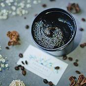 Скрабы ручной работы. Ярмарка Мастеров - ручная работа Кофейное бельди (натуральное мыло-скраб). Handmade.