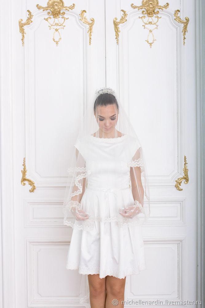Короткое свадебное платье, Платья свадебные, Санкт-Петербург,  Фото №1
