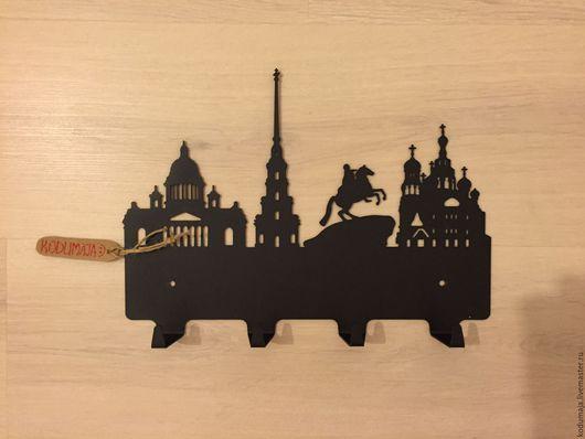 """Прихожая ручной работы. Ярмарка Мастеров - ручная работа. Купить Вешалка """"Санкт-Петербург"""". Handmade. Вешалка, красивая вешалка"""