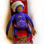 """Куклы и игрушки ручной работы. Ярмарка Мастеров - ручная работа Войлочная фигурка — """"Рождественские грезы"""". Handmade."""