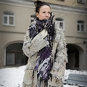Одежда handmade. Livemaster - original item Handmade Felted coat is timeless. Handmade.