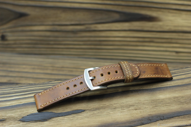 Watchbands ' Classic №1-antique Dealer.', Watch Straps, Penza,  Фото №1