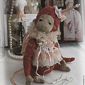 Куклы и игрушки ручной работы. Ярмарка Мастеров - ручная работа обезьянка Бонни. Handmade.
