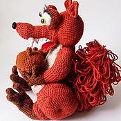 Куклы и игрушки ручной работы. Ярмарка Мастеров - ручная работа Саблезубая белка. Handmade.