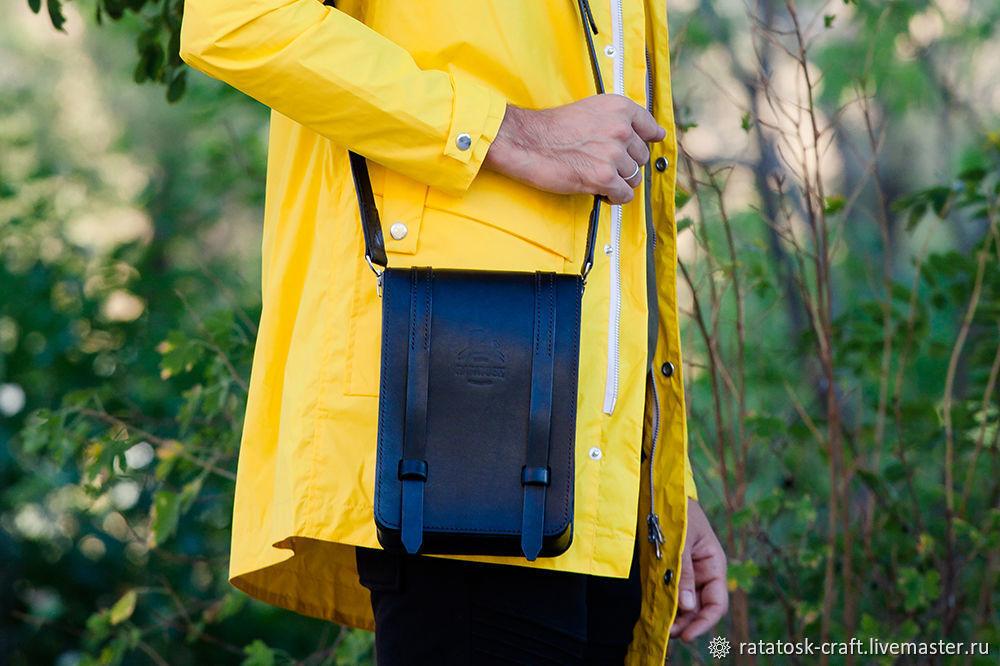 Bag tablet leather SEATTLE, Tablet bag, Volgograd,  Фото №1