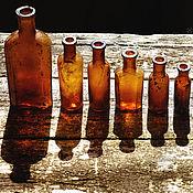 Винтаж ручной работы. Ярмарка Мастеров - ручная работа Старинные бутылочки. Аптечные бутылочки 19 века. Handmade.