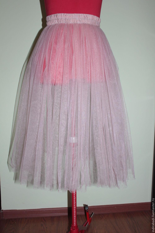 Как сшить юбку из фатина на взрослого