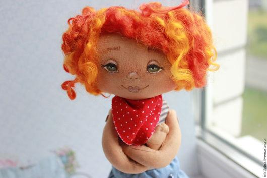 Коллекционные куклы ручной работы. Ярмарка Мастеров - ручная работа. Купить Морская рыжая девочка. Handmade. Комбинированный, кукла, рыжулька