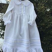 Одежда детская handmade. Livemaster - original item linen shirt
