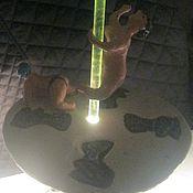 Для дома и интерьера ручной работы. Ярмарка Мастеров - ручная работа Керамический светильник  СТРИПТИЗ. Handmade.