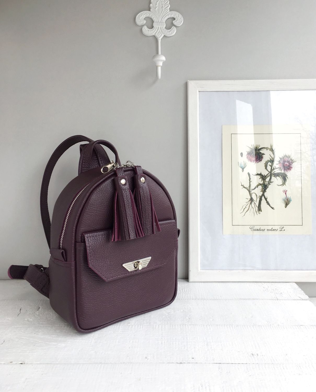 Рюкзак из натуральной кожи, Рюкзаки, Санкт-Петербург, Фото №1