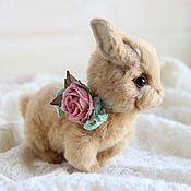 Куклы и игрушки ручной работы. Ярмарка Мастеров - ручная работа Кролик Молли авторская игрушка тедди. Handmade.