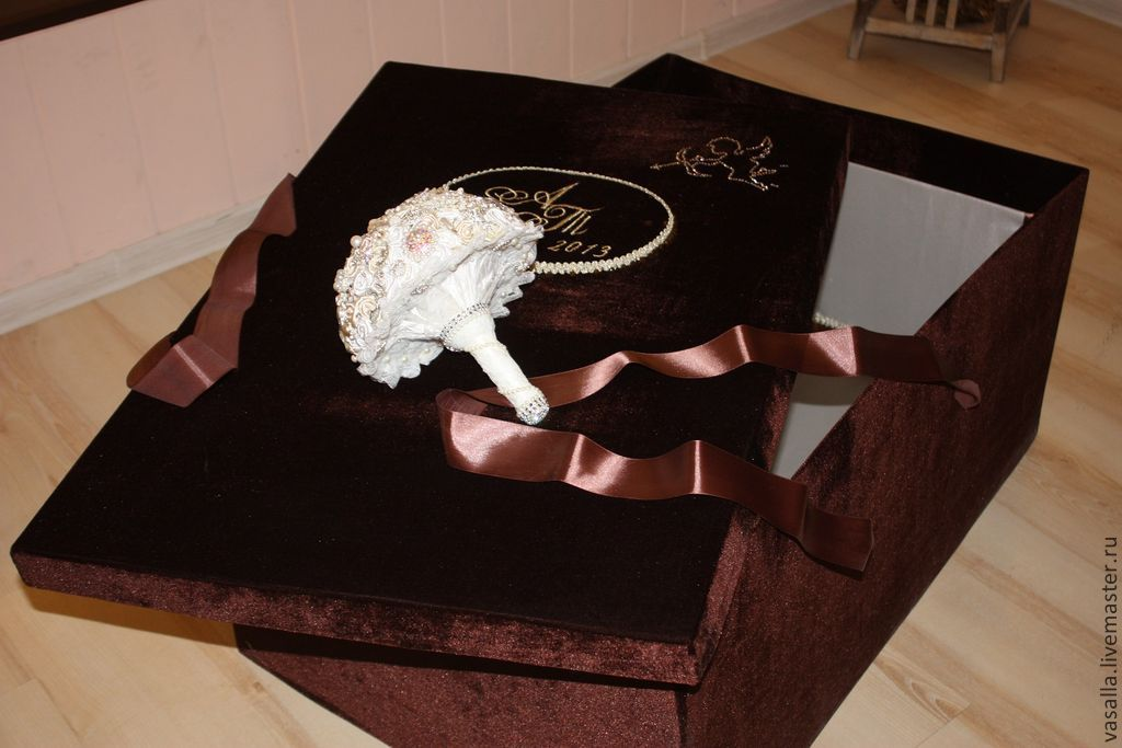 Коробка под платье