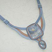 Украшения ручной работы. Ярмарка Мастеров - ручная работа Украшение с тиманским агатом. Handmade.