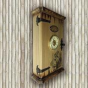 Для дома и интерьера ручной работы. Ярмарка Мастеров - ручная работа Ключница с часами Alice. Ручная работа. Handmade.