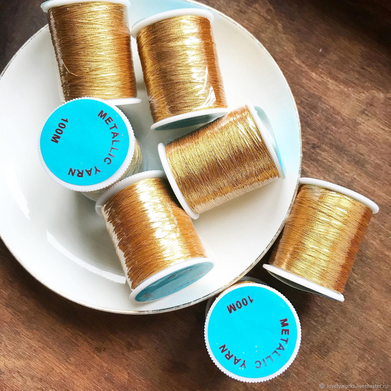 Металлизированные нитки для вышивки 933
