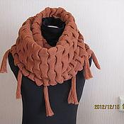 Аксессуары ручной работы. Ярмарка Мастеров - ручная работа шарф-снуд. Handmade.