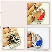 Материалы для творчества handmade. Livemaster - original item Base for the pendant (set). Handmade.