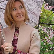 """Одежда ручной работы. Ярмарка Мастеров - ручная работа Валяное болеро """"Цветение"""". Handmade."""
