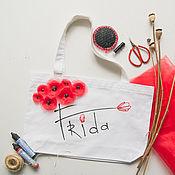 Сумки и аксессуары handmade. Livemaster - original item Bag Frida on white. Handmade.