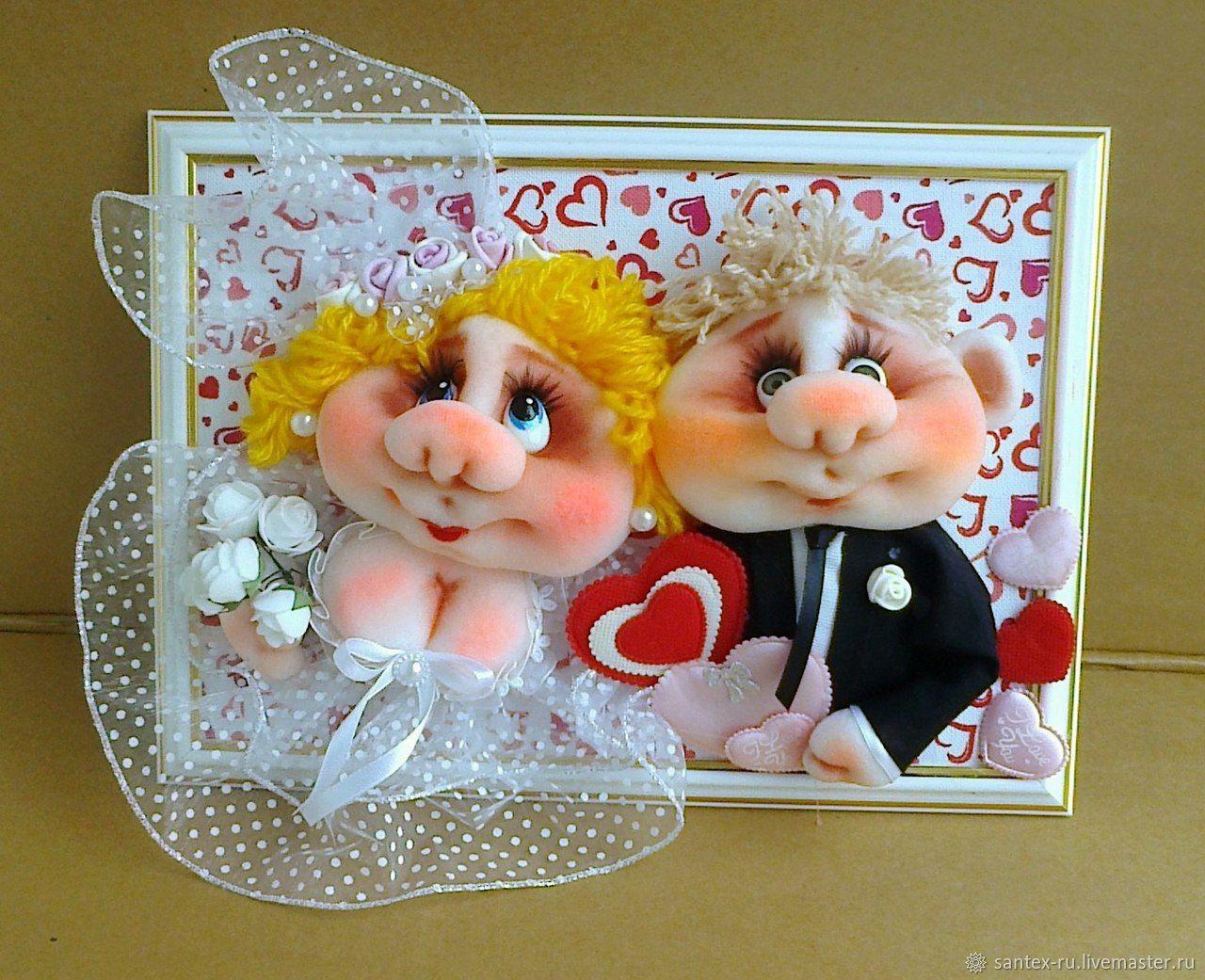 Свадебные подарки молодоженам своими руками 65