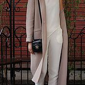Одежда ручной работы. Ярмарка Мастеров - ручная работа Летний брючный костюм, костюм женский летний. Handmade.