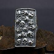 Украшения handmade. Livemaster - original item Skulls ring. Handmade.