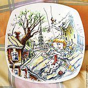 Посуда ручной работы. Ярмарка Мастеров - ручная работа Питерская Фея. Handmade.