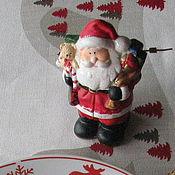 """Для дома и интерьера ручной работы. Ярмарка Мастеров - ручная работа Скатерть """"Где живёт Дед Мороз?"""" скатерть скатерть  новогодняя скатерть. Handmade."""