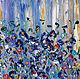 Абстракция ручной работы. Летняя фантазия.. Наталья Вокина (nstar9). Интернет-магазин Ярмарка Мастеров. Картина в подарок