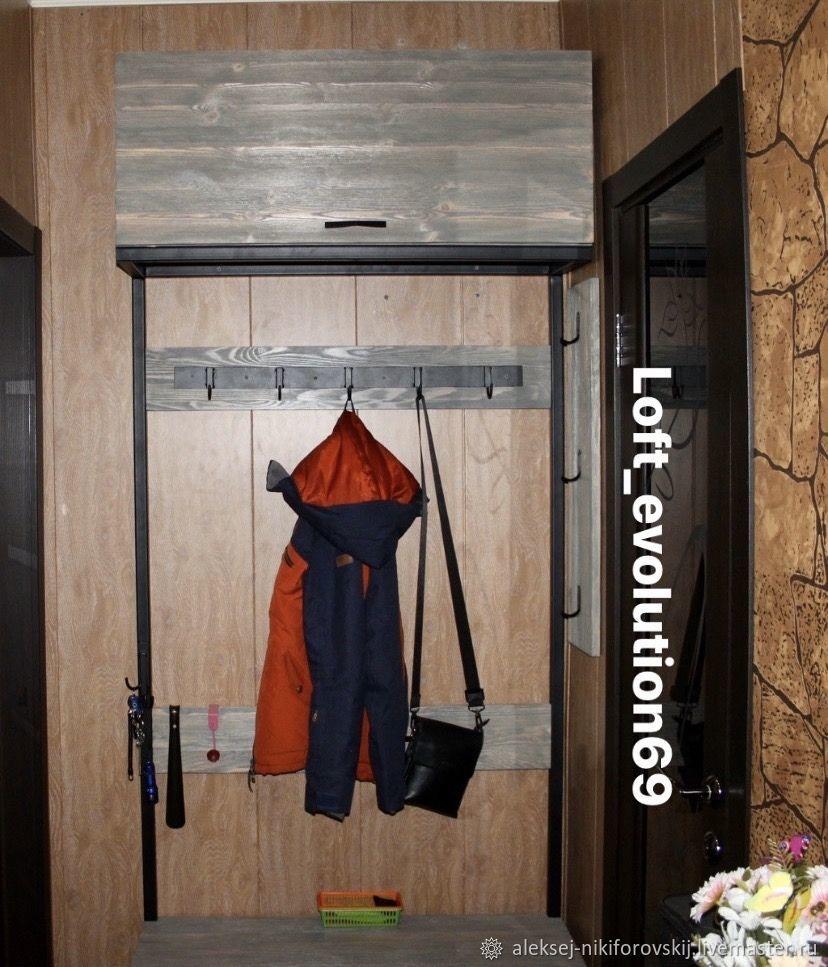 Лофт прихожая, Гардеробы, Тверь,  Фото №1